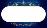 クラシックオーナメント・ブルー(写真あり) 裏面