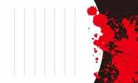 赤いしぶき・バタフライ(写真あり) 裏面