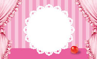 カップケーキ・ピンク 裏面