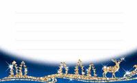 ハッピークリスマス・ブルー  裏面