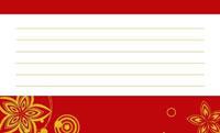金の和模様・赤(写真あり) 裏面