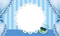 カップケーキ・ライトブルー(写真あり) 裏面
