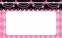 キラキラフェアリーテイル・白雪姫ピンク 裏面