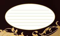 金の波・ブラック(写真あり) 裏面